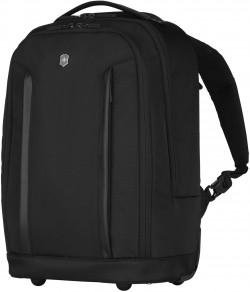 """ALTMONT Professional/Black Рюкзак на 2 колесах с отдел. д/ноутбука 17""""/iPad (20л) (32x47x22)"""
