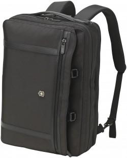 """WERKS PROFESSIONAL 2.0/Black Сумка-рюкзак с отдел. д/ноутбука 15""""/iPad (16л) (46x32x18)"""