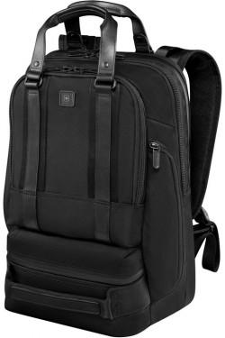 """LEXICON PROFESSIONAL/Black Рюкзак Bellevue 15 с отдел. д/ноутбука 15,6""""/iPad (26л) (30x46x19)"""