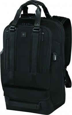 """LEXICON PROFESSIONAL/Black Рюкзак Bellevue 17 с отдел. д/ноутбука 17""""/iPad (30л) (32x47x20)"""
