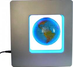 Глобус левитация в квадрате