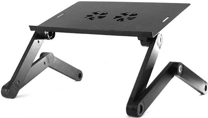 Металлический столик для ноутбука T-2