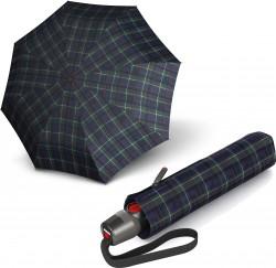 Зонт T.200 Check Blue&Green Авто/Складной/8спиц /D98x28см