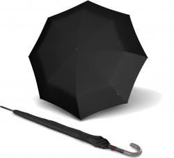 Зонт T.703 Black Полуавто/Трость/8спиц /D106x88см