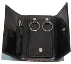 BERN 1/Black Ключница с отдел. д/монет (7x12x2)