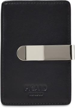 EUROJET/Black Кредитница с зажимом для банкнот (7x10,5x1)
