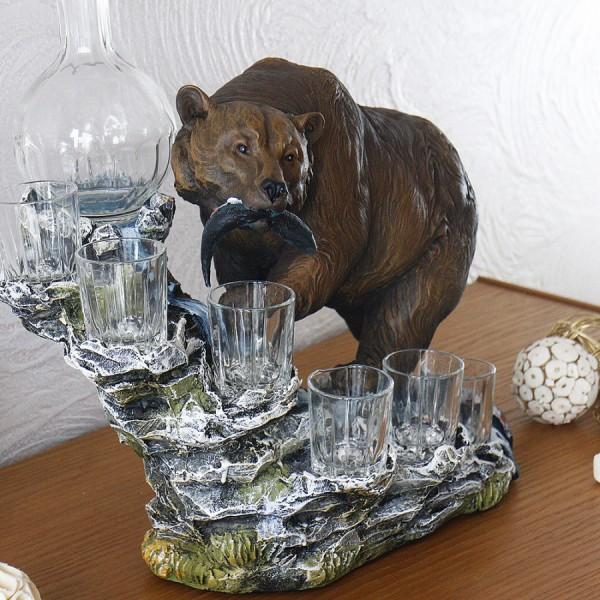 Штоф медведь