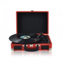Проигрыватель для виниловых пластинок AudioCase красный