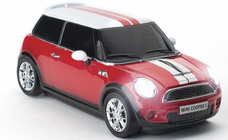 Беспроводная компьютерная мышь  MINI Cooper S RED