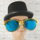 Очки для вечеринки гигант Рей Бен желтые