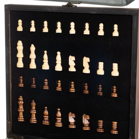 Подарочный набор  Шахматы+покер