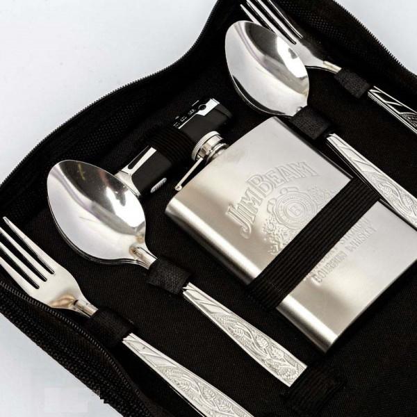 Сумка для пикника с набором посуды