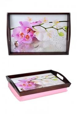 Поднос с ручками Orchid