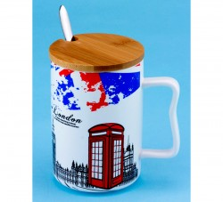 Чашка LONDON Телефонная будка