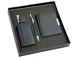Набор ключница-кошелек, портмоне, ручка, зажигалка