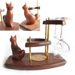 Мини - бар винный Кот сидящий