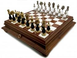 Шахматы Italfama 142BN+419AW