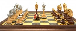 Шахматы Italfama 158G+252BW