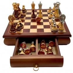 Шахматы Italfama 158G+332W