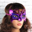 Венецианская маска Бабочка (сиреневая)