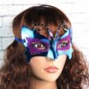 Венецианская маска Бабочка (синяя)