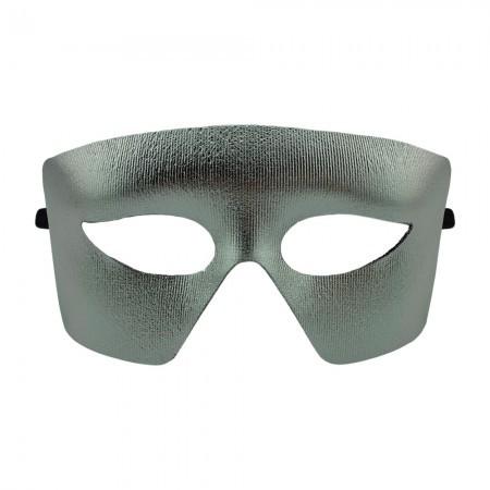 Венецианская маска Мистер Х (серебро)