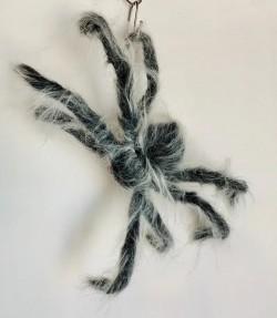 Паук декоративный с белой шерстью
