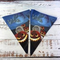 Гирлянда флажки Хэллоуин 10