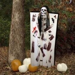 Декор для хэллоуина Призрачный Череп 125см