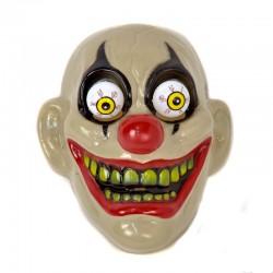 Маска Клоун с глазами на пружинке