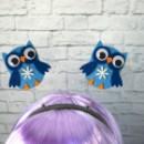 Антенки Сова голубой