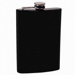 Черная фляга для алкогольных напитков
