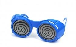 Очки гипнотические СПИРАЛИ синий
