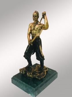 Бронзовая статуэтка Казак c саблями