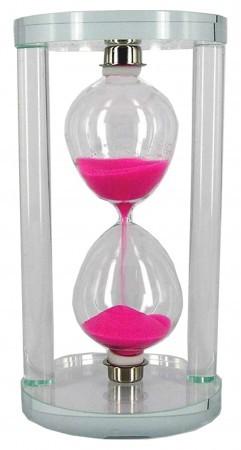 Песочные часы стекло круг
