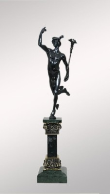 Бронзовая статуэтка Гермес