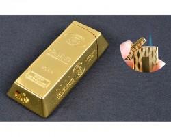 Зажигалка Слиток золота маленький