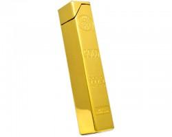 Зажигалка газовая слиток золота