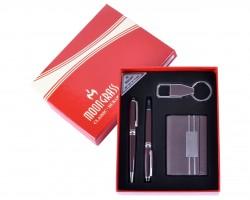 Подарочный набор 4в1 Moongrass Визитница  Ручка Брелок
