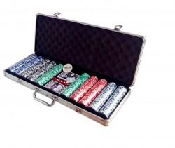 Покер на 500 фишек с номиналом