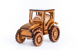 Мини бар Трактор Джон Дир с рюмками