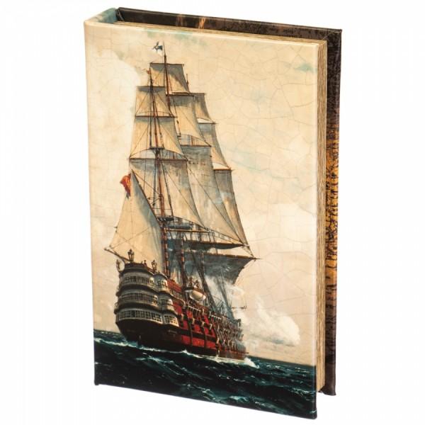 Книга-сейф  Линейный корабль