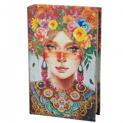 Книга-сейф Девушка весна