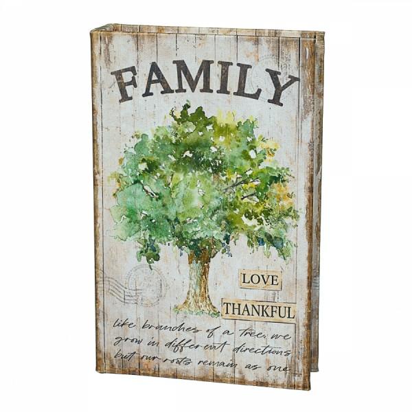 Книга-сейф Семейное дерево