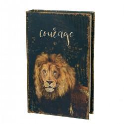Книга сейф Лев