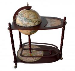 Напольный Глобус бар со столиком 33004NN01
