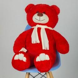 Плюшевый мишка  Красный 110 см