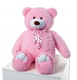 Плюшевый мишка Розовый 110 см