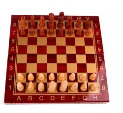 Настольная игра 3 в 1 шахматы, шашки и нарды 29,5x15 см
