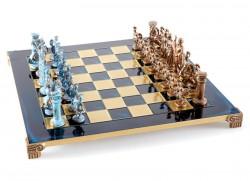 Шахматы  греко - римские Manopoulos синие